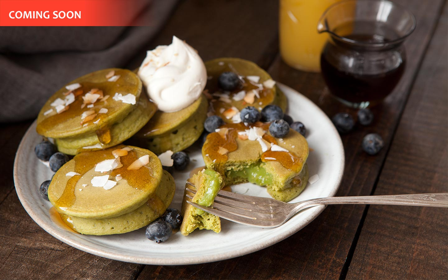 Green Tea Pancakes Image